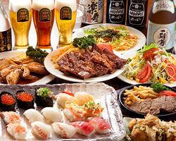 2時間食べ放題&飲み放題!3500円 お料理は全30種ご用意!