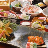色鮮やかなお料理でハレのお祝いのお席を盛り上げます