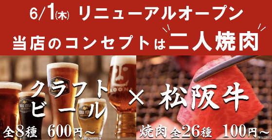 焼肉×クラフトビール もとびの画像