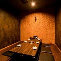 【個室】 シーンやご利用人数に応じた個室にご案内いたします