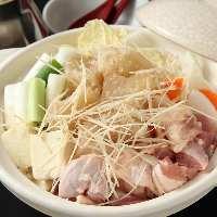 ☆大人気☆鶏とコラーゲンの生姜鍋 身も心も、温まります!!