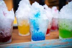 今年のBBQにはカキ氷マシンをご用意しております。