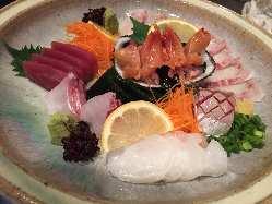 新鮮な魚介をご堪能下さい