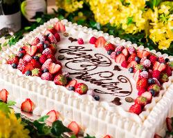 ◆本格オーダーケーキ フランス修行したパティシエ特製ケーキ♪