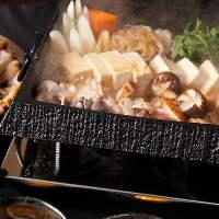【古白鶏のすき焼】板前拘りの古式醤油は割り下に抜群。