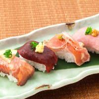 新登場!肉寿司盛合せ