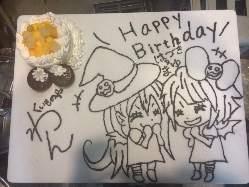 記念日・お祝いにわんオリジナルケーキプレート!!