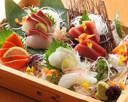 ~鮮魚の盛合せをご堪能ください~