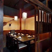 炉ばた居酒屋の『かっこには』素敵な個室もあります。