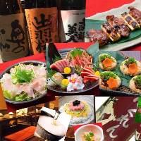 こだわりあるお料理とビール、日本酒等取り揃えております!!