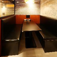 【BOX席】5~6名様用のお席。会社帰りの小宴会に◎