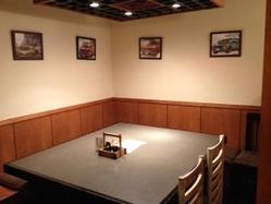 テーブル半個室スペース