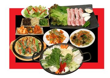 本場韓国家庭料理 柳の画像