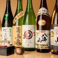 【ドリンク】 ビールに日本酒、サワーなど幅広いラインナップ