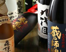 群馬の地酒・日本酒 プレミア焼酎ございます