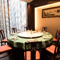 大きな円卓・くつろぎの中華個室で質の高いご宴会をどうぞ・・・