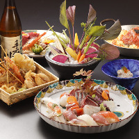 洋食のエッセンスをプラスした新しい和食をお楽しみください。