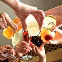 季節の節目に宴会はいかがですか。飲み放題付きコースもご用意。