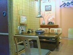 1F個室、ゆったりくつろげる掘りごたつ席 (4名 2部屋)