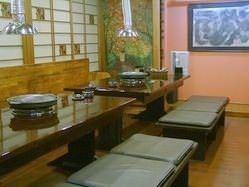 2F小部屋、小宴会、接待、大家族向けです。 (12名 3部屋)