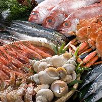 北陸の旬の魚介は鮮度バツグン! いろとりどりに種類も豊富♪