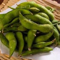 【夏の枝豆】 契約農家さんから仕入れた美味しい一品をどうぞ