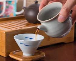 見た目も綺麗な中国茶♪