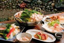 大満足のもつ鍋と各種お料理を取り揃えて皆様をお待ちしてます。