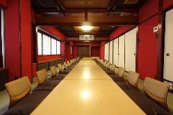 最大36名様まで収容可能な大宴会会場あり。