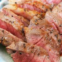 A5ランクの和牛を使ったお料理もご提供!