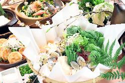 京都の趣のあるお料理を お楽しみいただけます