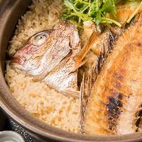 柏崎名物「鯛飯」当店の看板料理です。