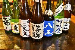 良質な水で醸された富山の豊富な地酒。