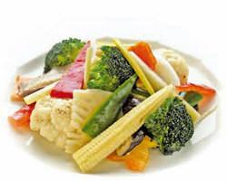 彩り野菜のあっさり天日塩炒め