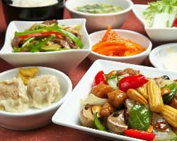 チンジャオロースや焼売、麻婆豆腐など、定番中華メニュー充実☆