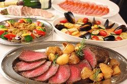 パーティ料理では宴会に応じた料理をご提供♪
