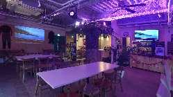 LED照明で色々な演出が可能です。