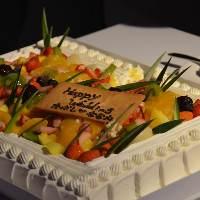 特大ウェディングケーキ