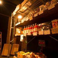 店内で農家直送野菜の物販も行っておりますので、お土産にぜひ。