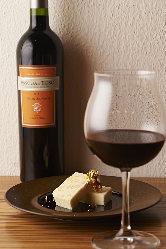 野菜と一緒に楽しむワインは豊富にご用意しております。