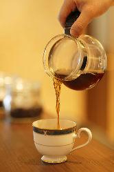 こだわりのコーヒーは品質の高い豆を厳選!
