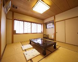 5部屋ある完全個室。用途も様々多くのシーンで活躍してくれる