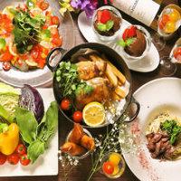 厳選食材を使用した豪華なコース料理を多数ご用意!飲み放題充実