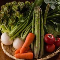 農家より直送される 新鮮なお野菜も使用!素材は全てこだわり有