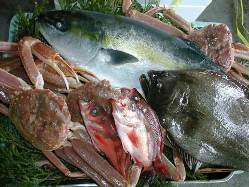 北陸の旬食材を豊富に使用しております。