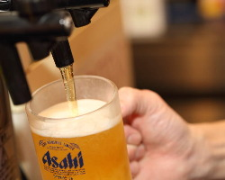 焼肉といえばビールがうまい!飲み放題付コースも御座います。