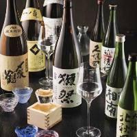 鶏料理に合う日本酒も種類豊富にご用意しております。