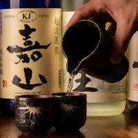 日本酒も店主目利きの新潟地酒をご用意!定番から銘酒までご用意