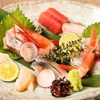 質の良い新鮮魚介の旨みをお楽しみください