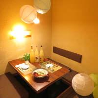 ◆完全個室◆カップルや女子会にも人気♪